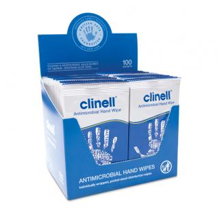Antimikroobsed kätepuhastuslapid N100